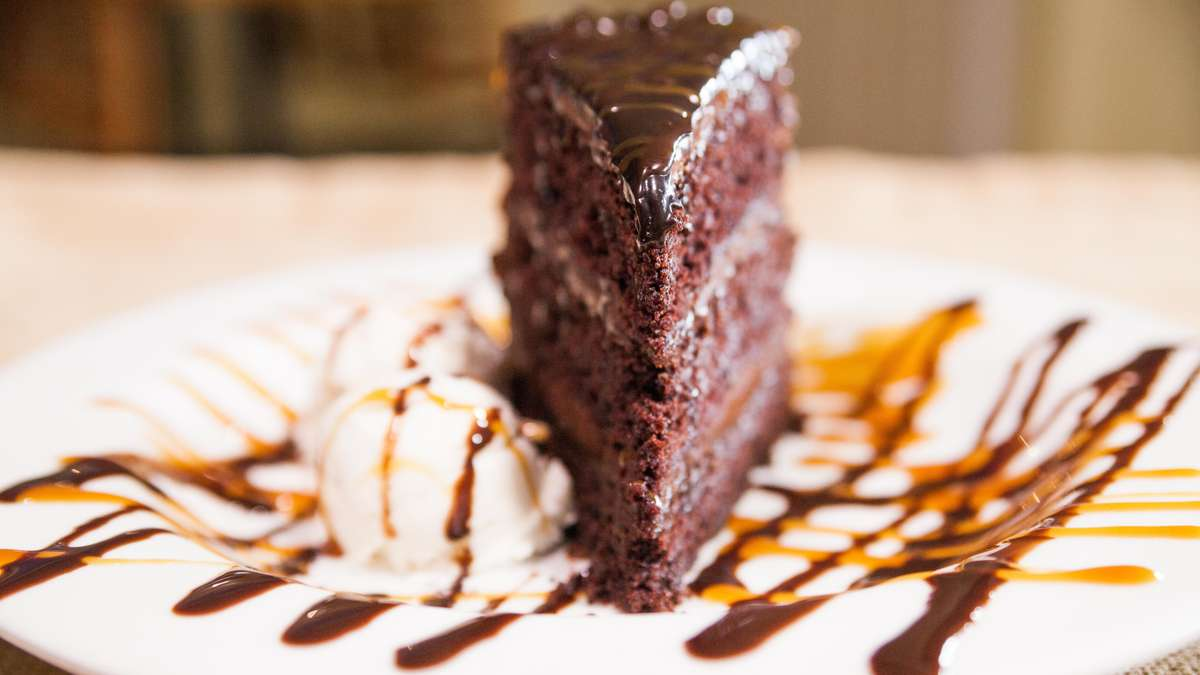 Towering Chocolate Cake