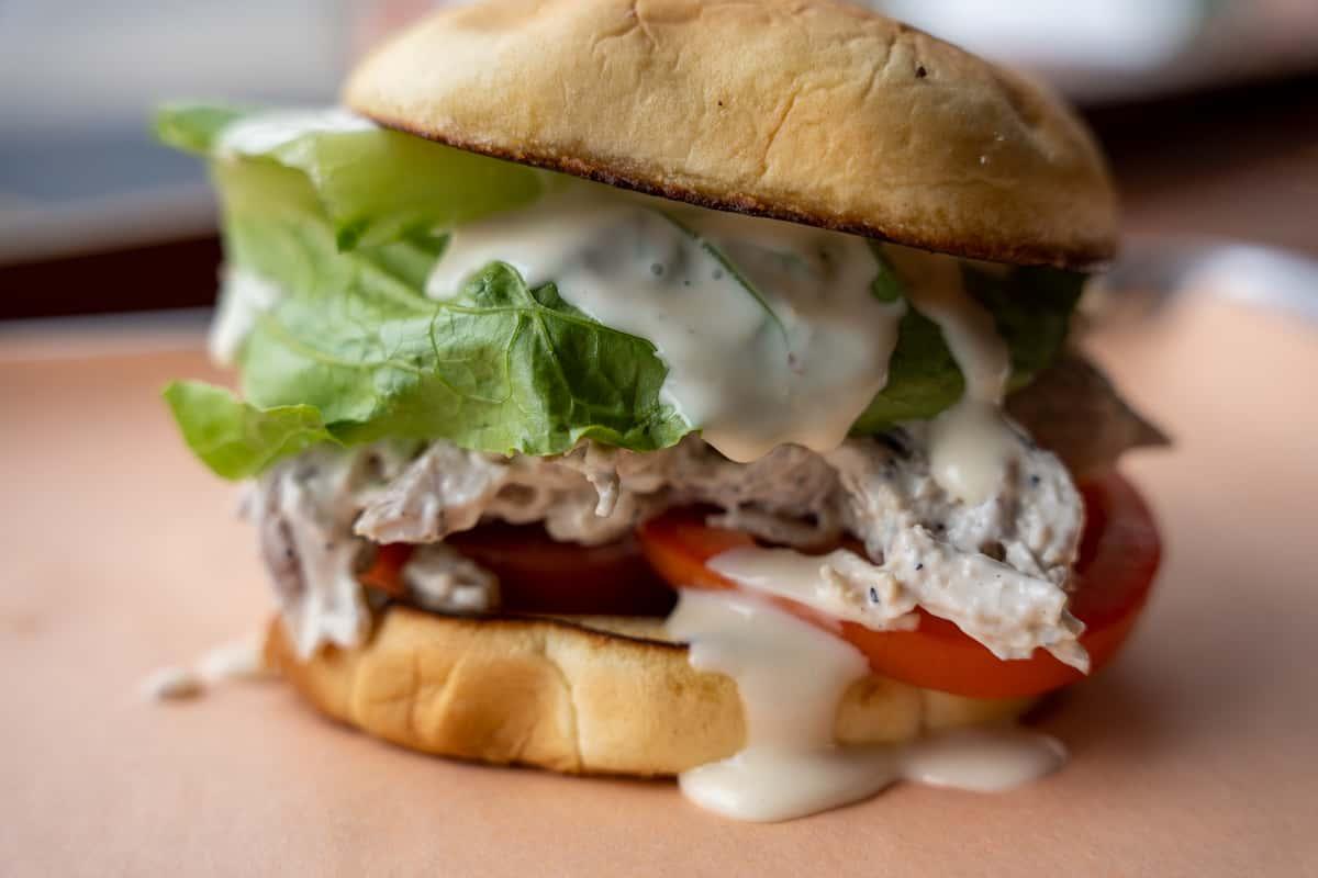 Hanks Chicken Salad Sandwich