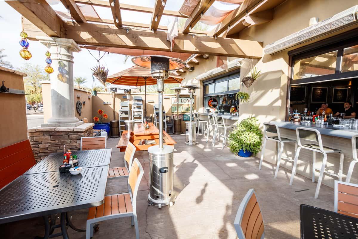 BLD Outdoor patio