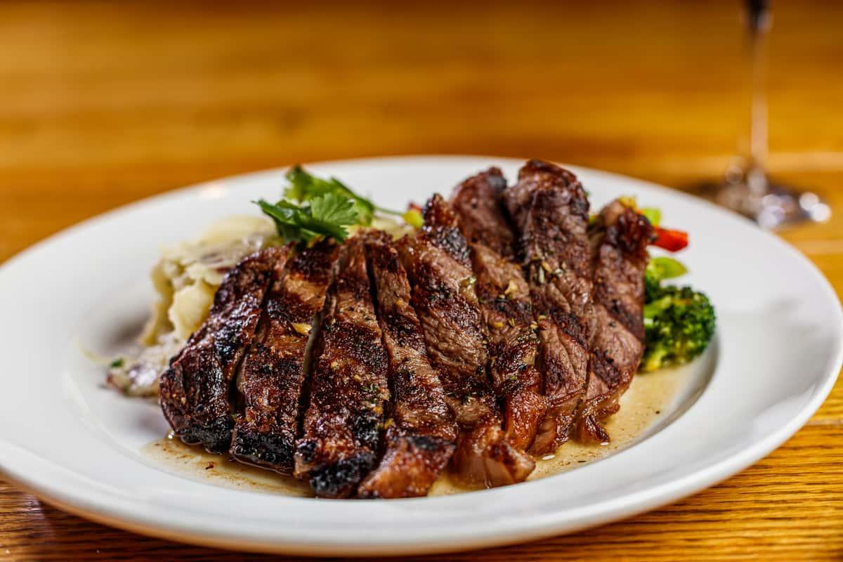 N.Y. Strip Steak 12 oz.