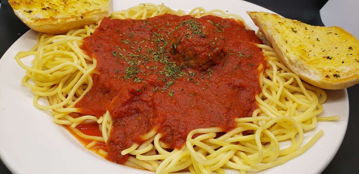 Build Your Own Spaghetti Dinner
