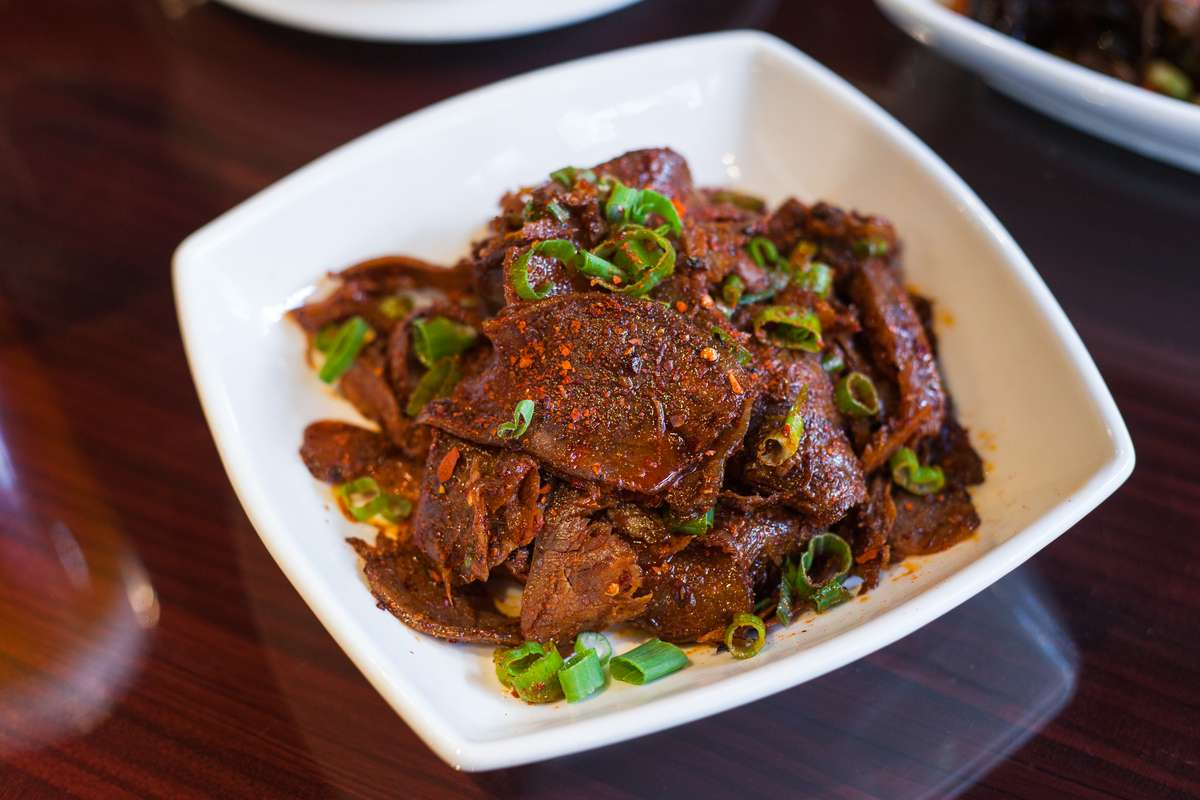 Beef in Dry Spice