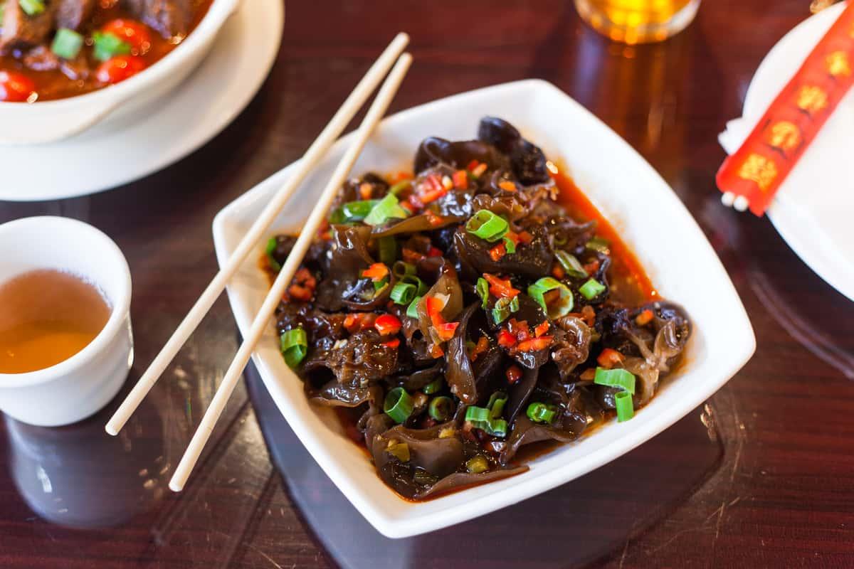 Chinese Black Fungus (wood ears)