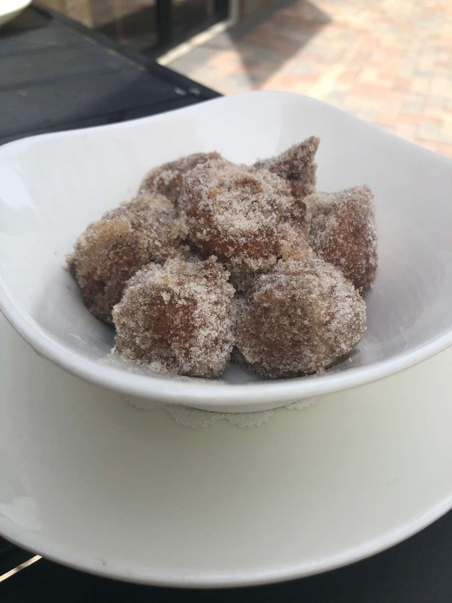 Thyme Honey Ricotta Doughnuts