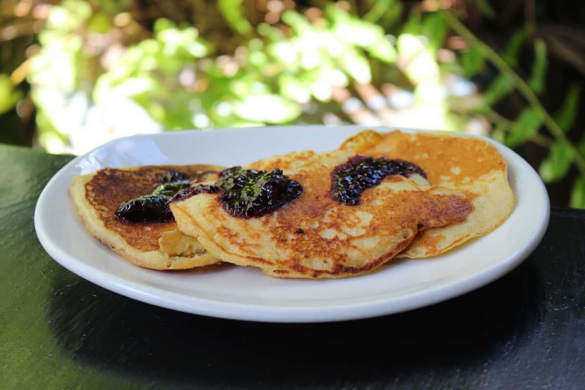 Lemon Ricotta Silver Dollar Pancakes