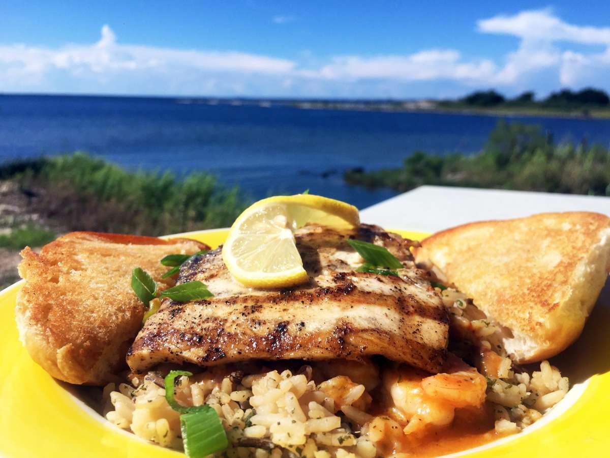 Maritime Mahi & Shrimp