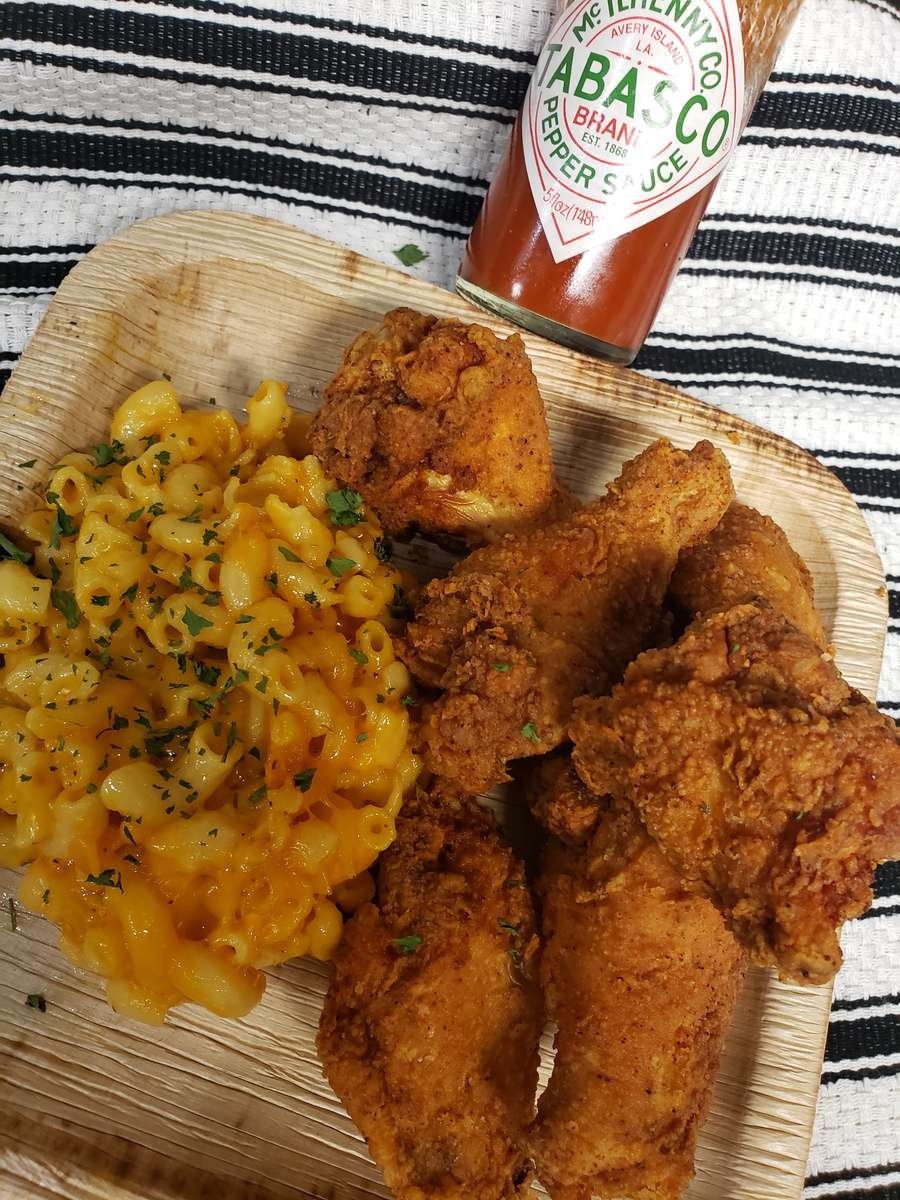 6 -Piece Fried Chicken Wing Ding Meal