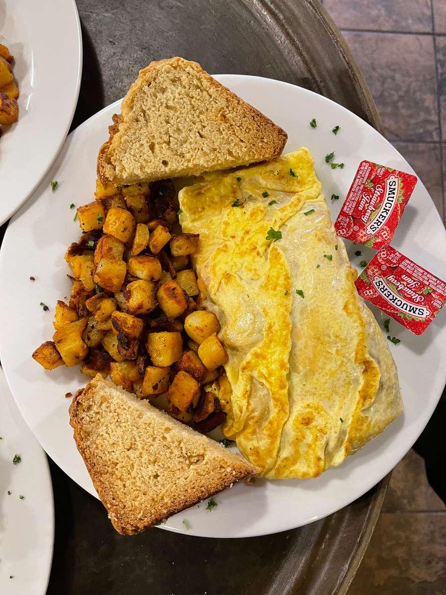 TPG Veggie Omelets