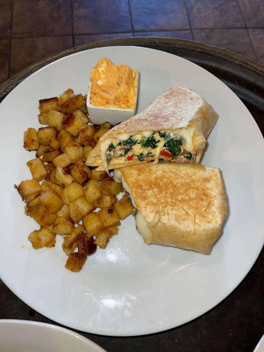 TPG Breakfast Wrap