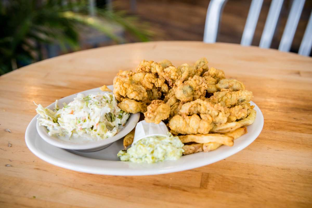 Fried Oyster Plate
