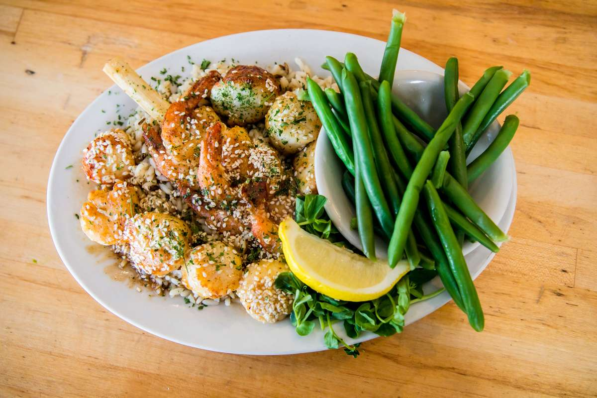 Bayside's Famous Maple Seafood Medley
