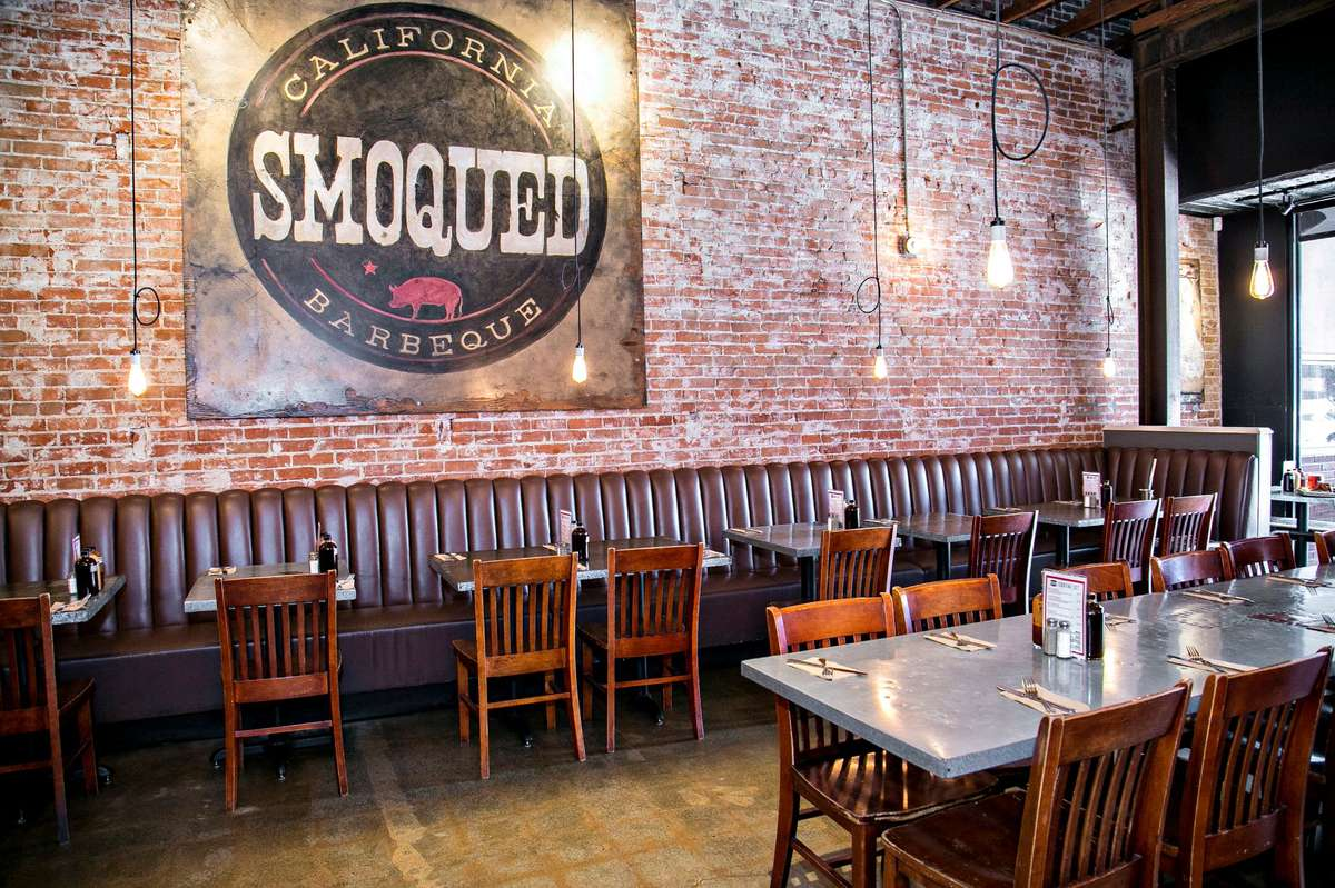 smoqued interior