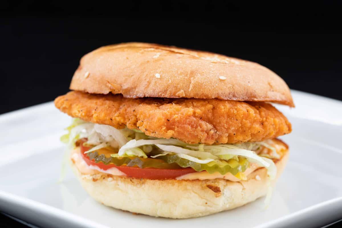 Fried Chicken Sandwich Reg Or Spicy