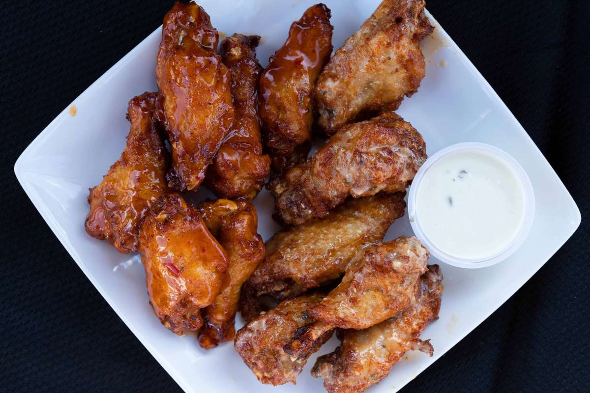 Hot Wings Mix flats & drumstick only