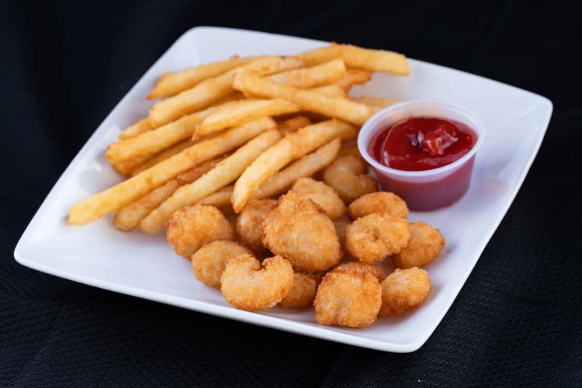 Popcorn Shrimp & Fries