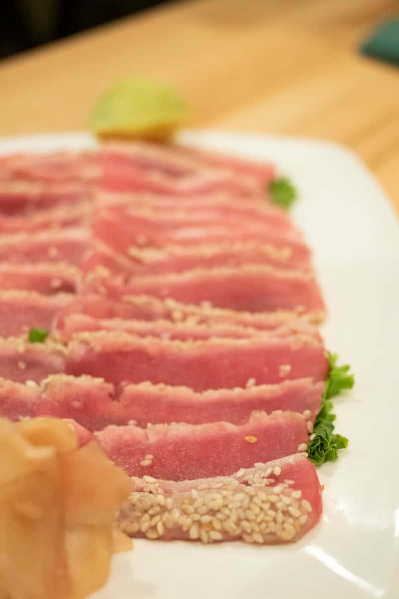 Rare Tuna Sashimi*