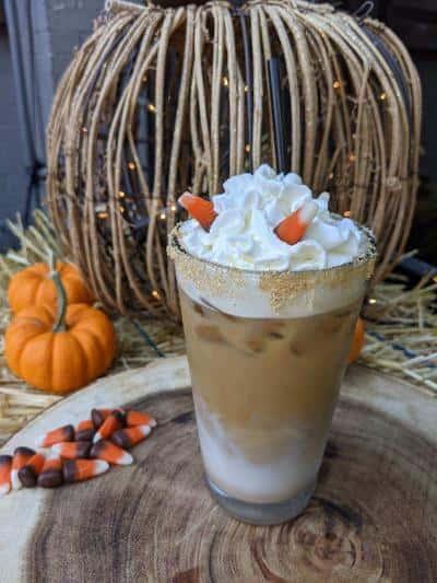 Iced Pumpkin Latte Macchiato