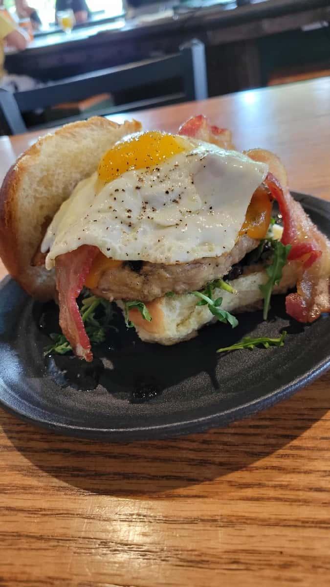 Coughlin's Big Ol' Breakfast Sandwich