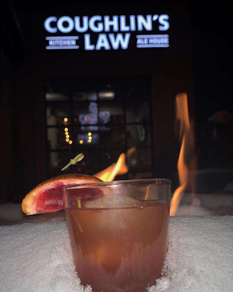 Coughlin's Smoked Blood Orange Old Fashioned