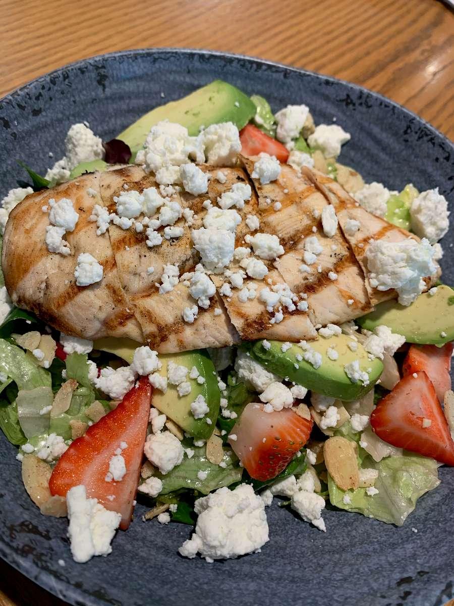 Strawberry Avocado Chicken Salad