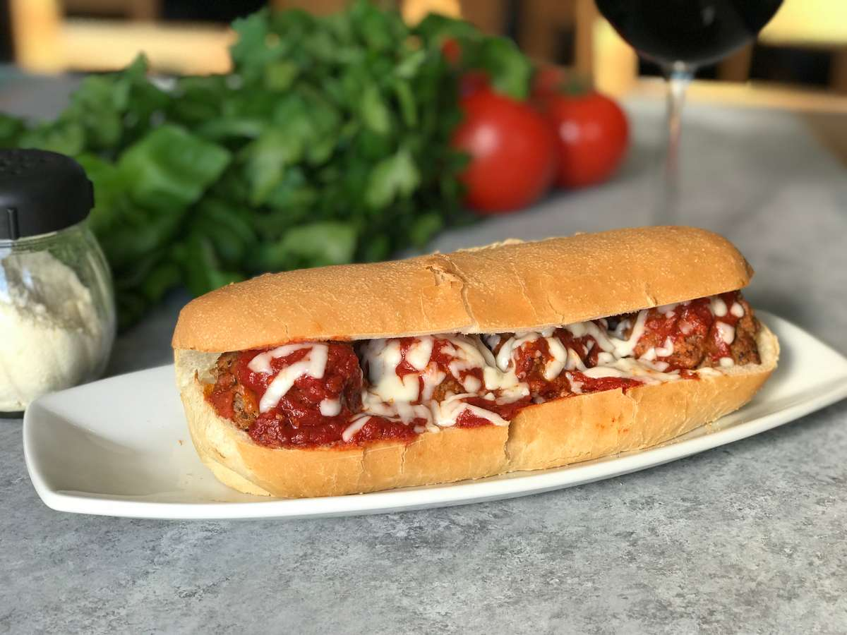 Meatball & Cheese Sandwich