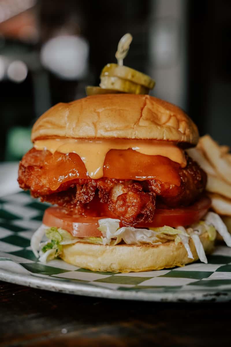 Nashville Chicken Sandwich