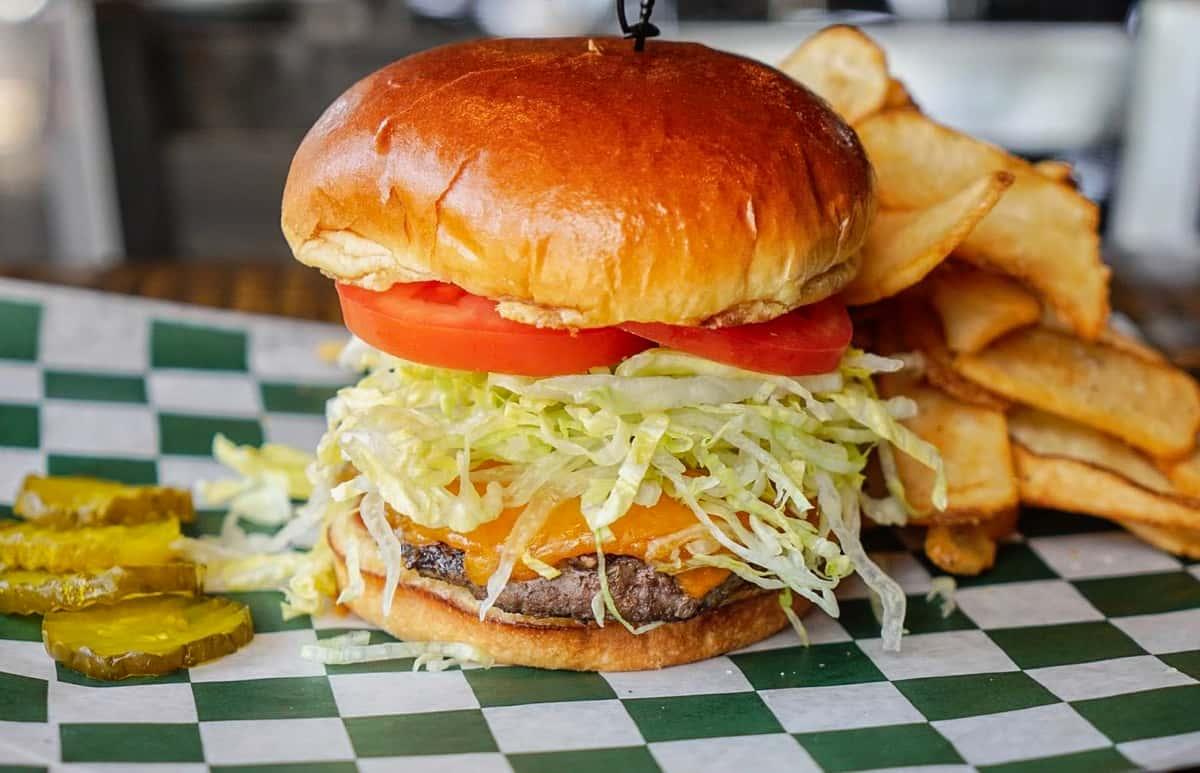 Half Pound Cheese Burger