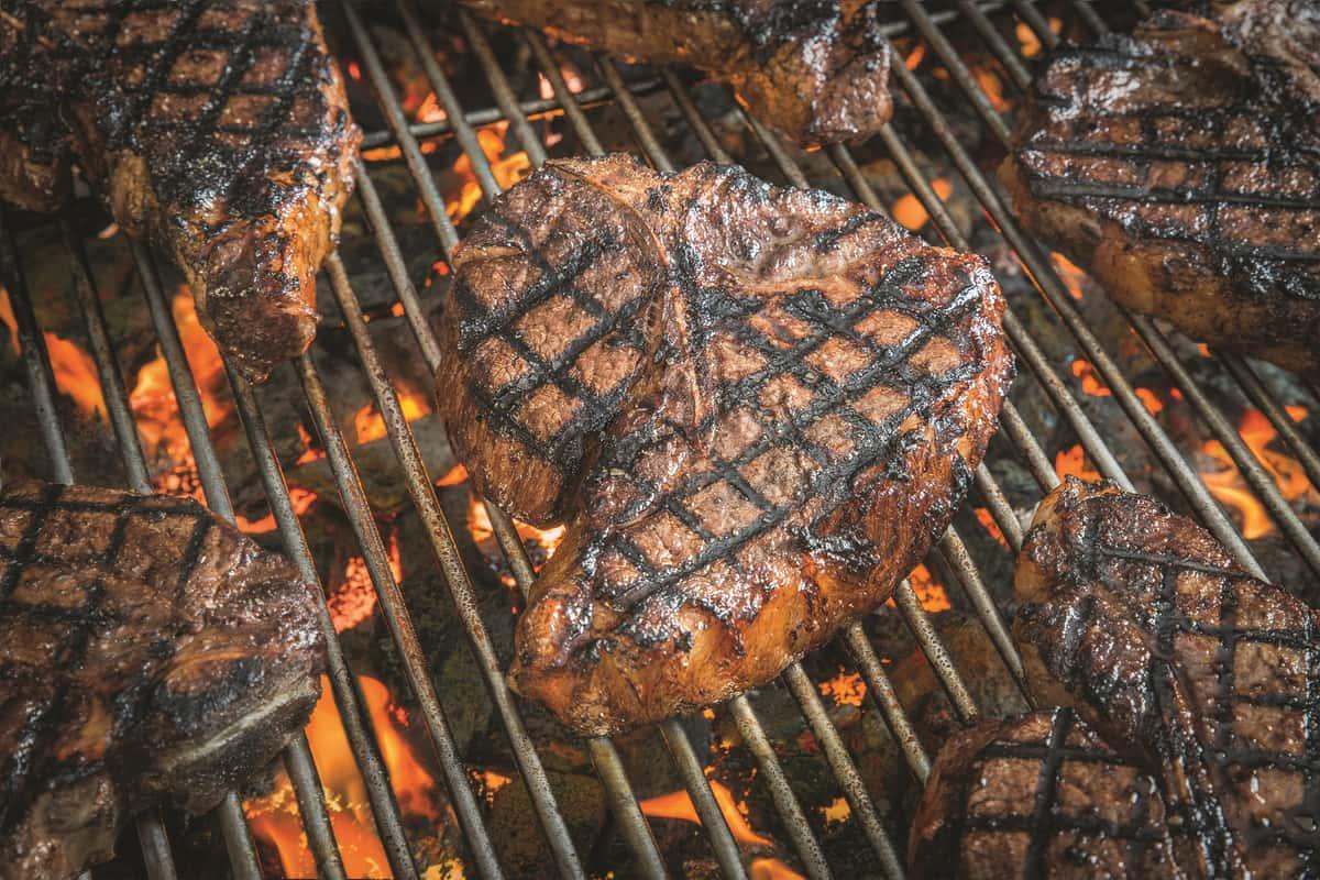Annie's Porterhouse Steak