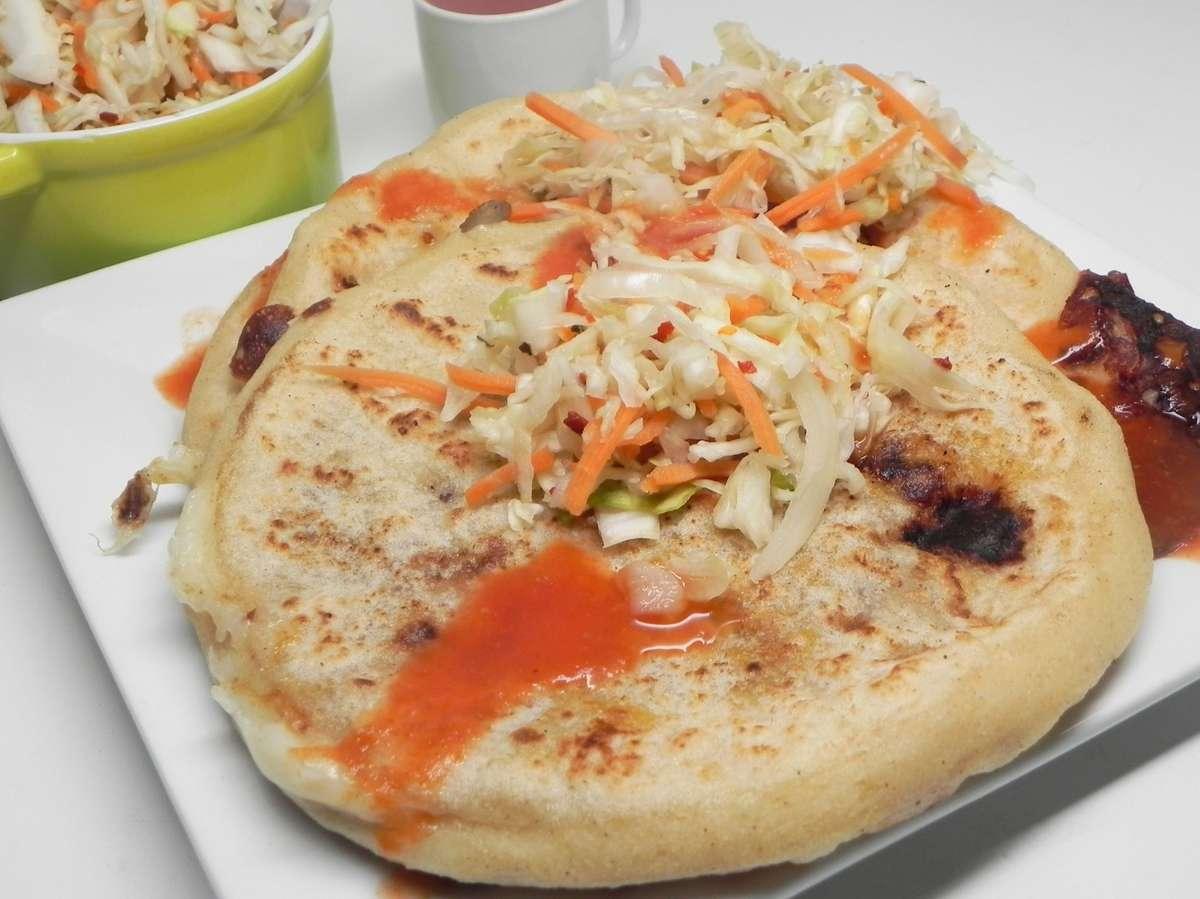 Platter of 3 Pupusa