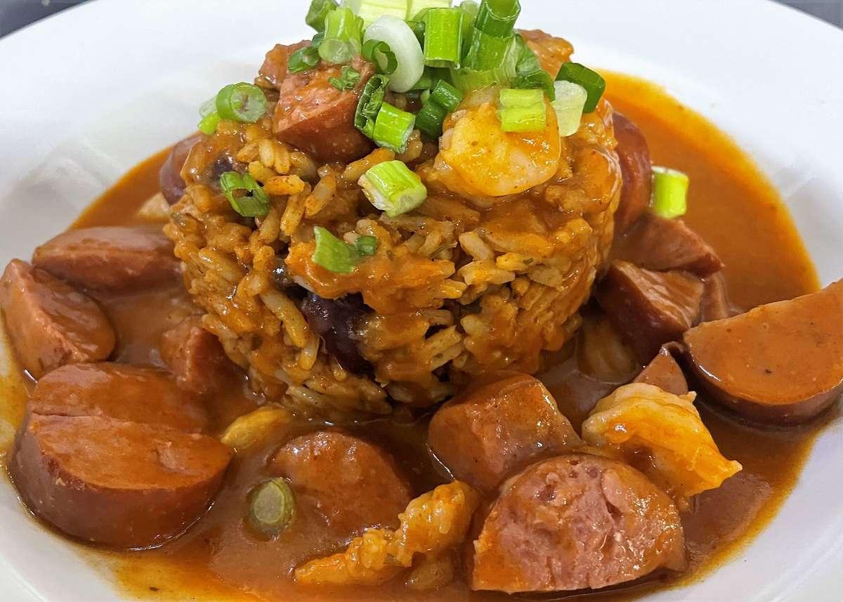 Shrimp & Sausage Creole