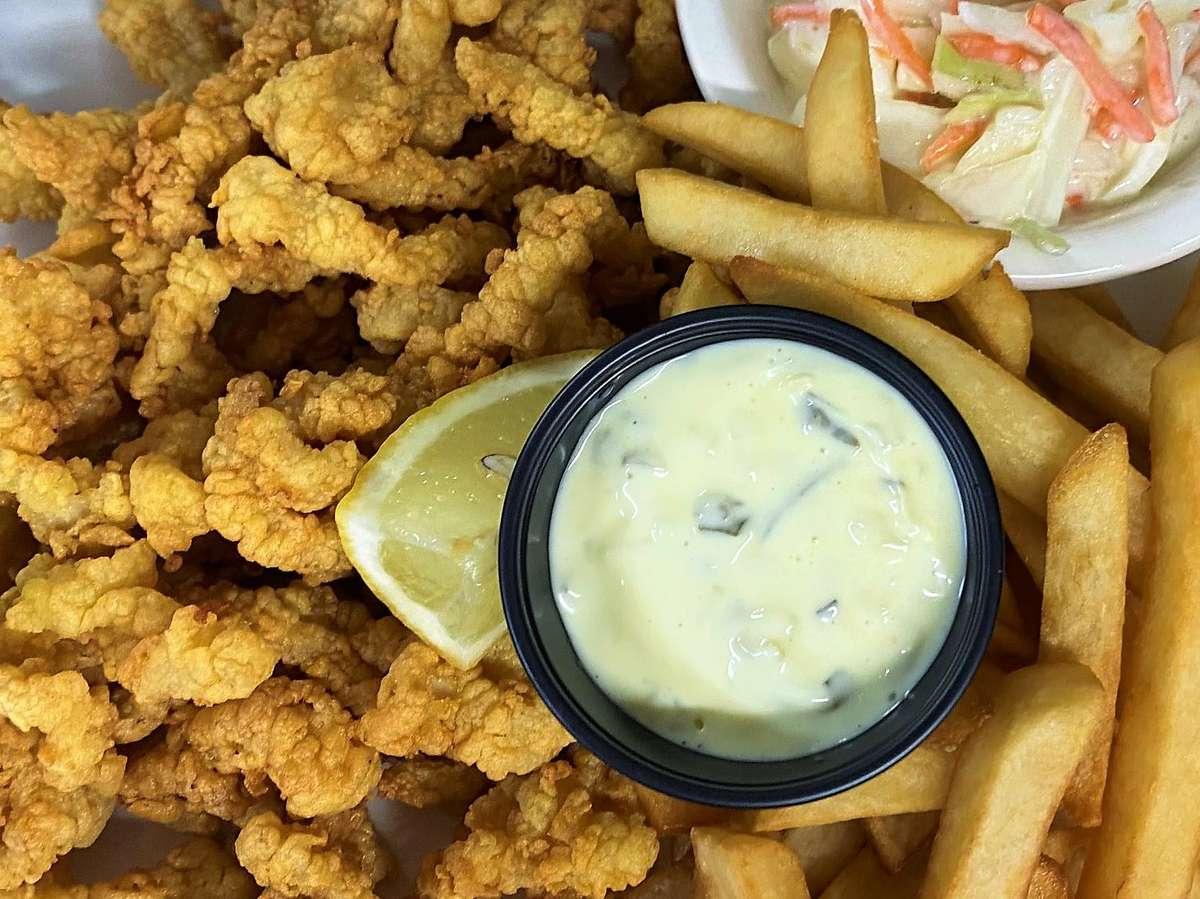 Fried Clam Strip Dinner