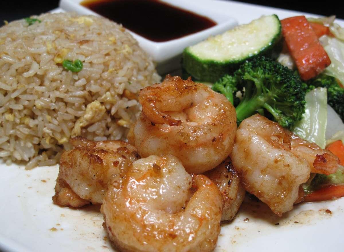 Hibachi Shrimp
