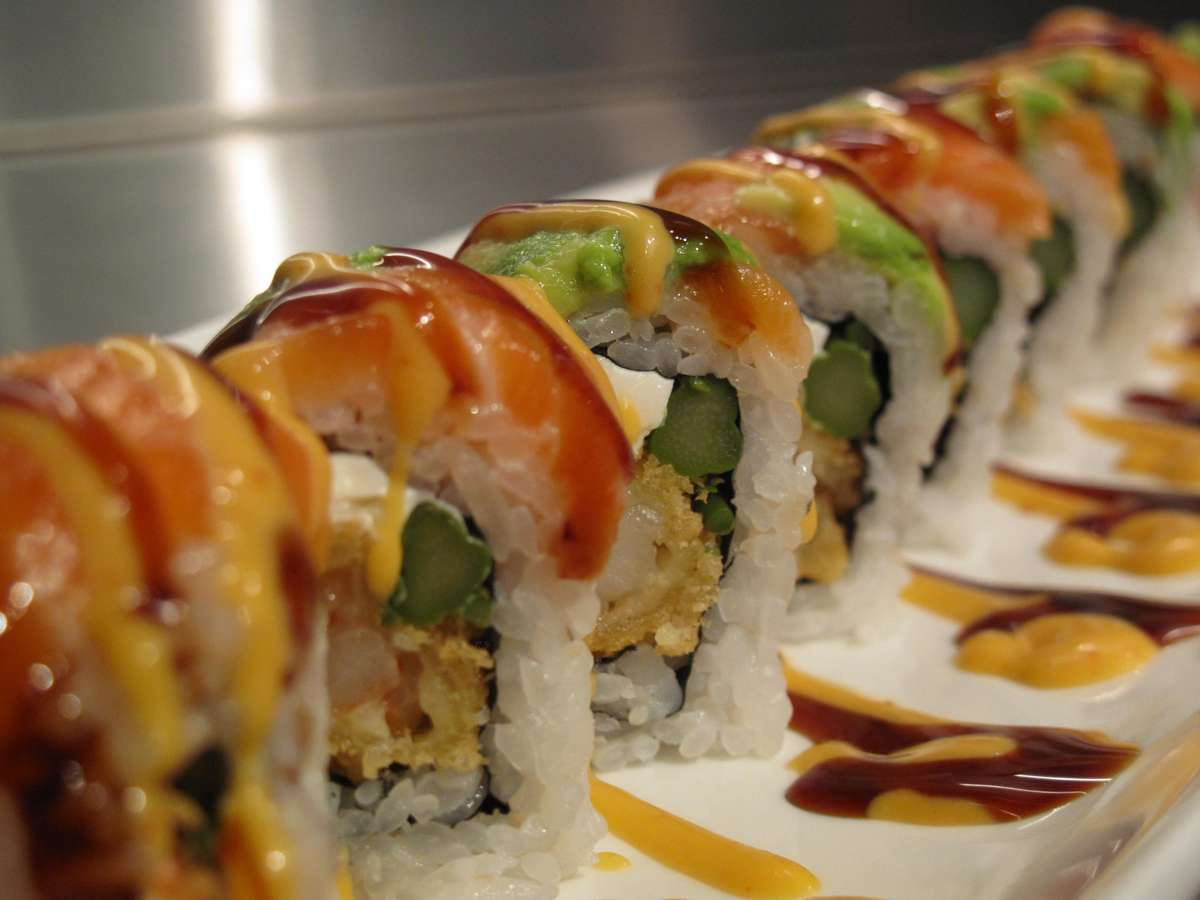 Orange Sunset Roll*