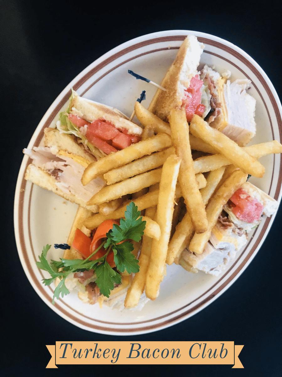 Turkey and Bacon Club