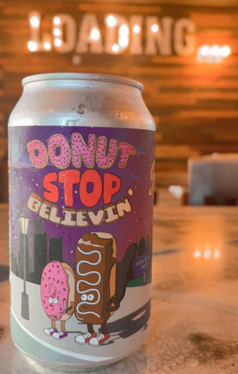Pigeon Hill Donut Stop Believin Cream Ale