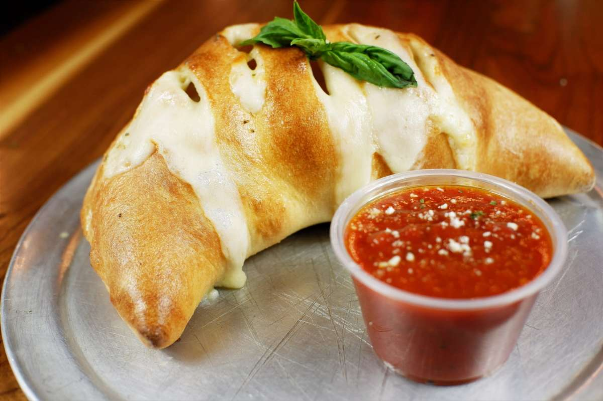 #2 Create Your Own Calzone (Any 3 Toppings)
