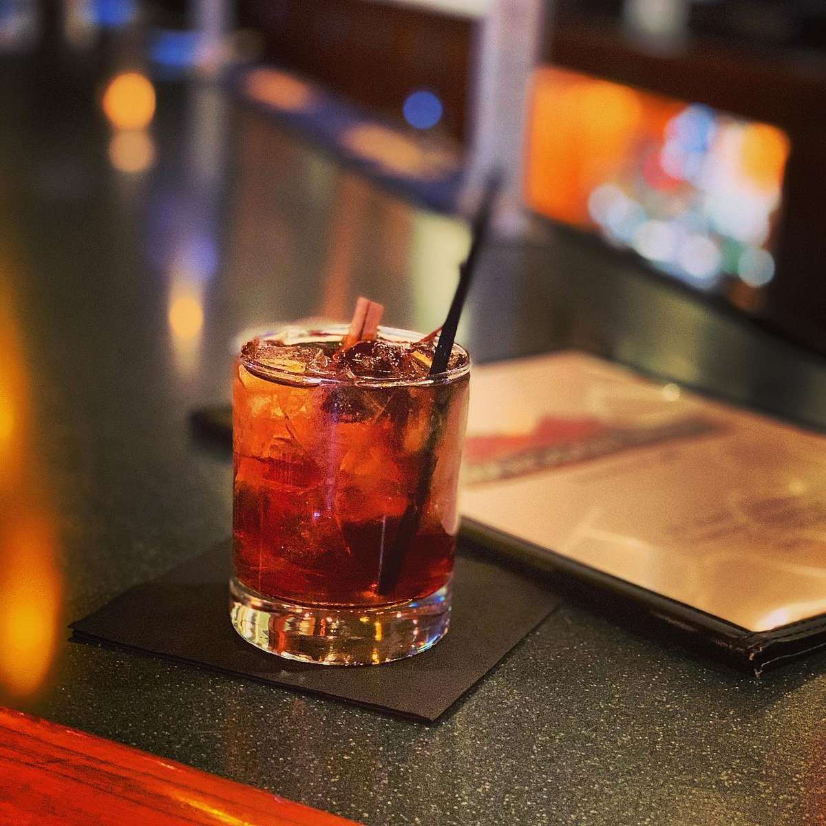 Smoky Maple Old Fashioned