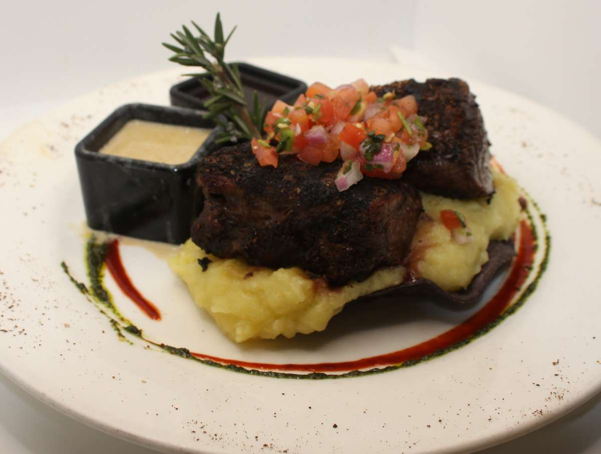 Chile Rubbed Beef Tournedos