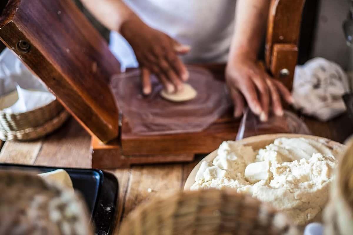 tortilla making