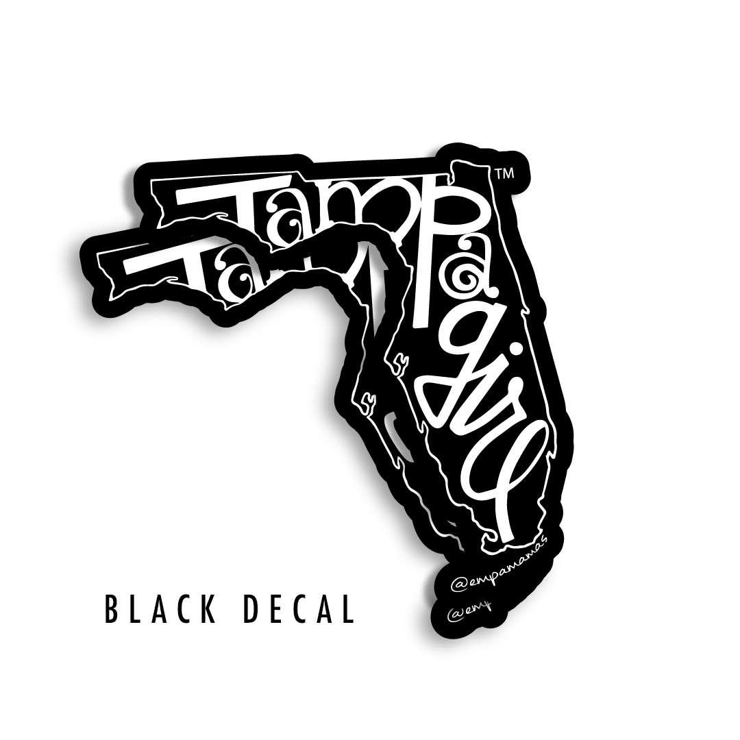 Tampa Girl Decal - Black