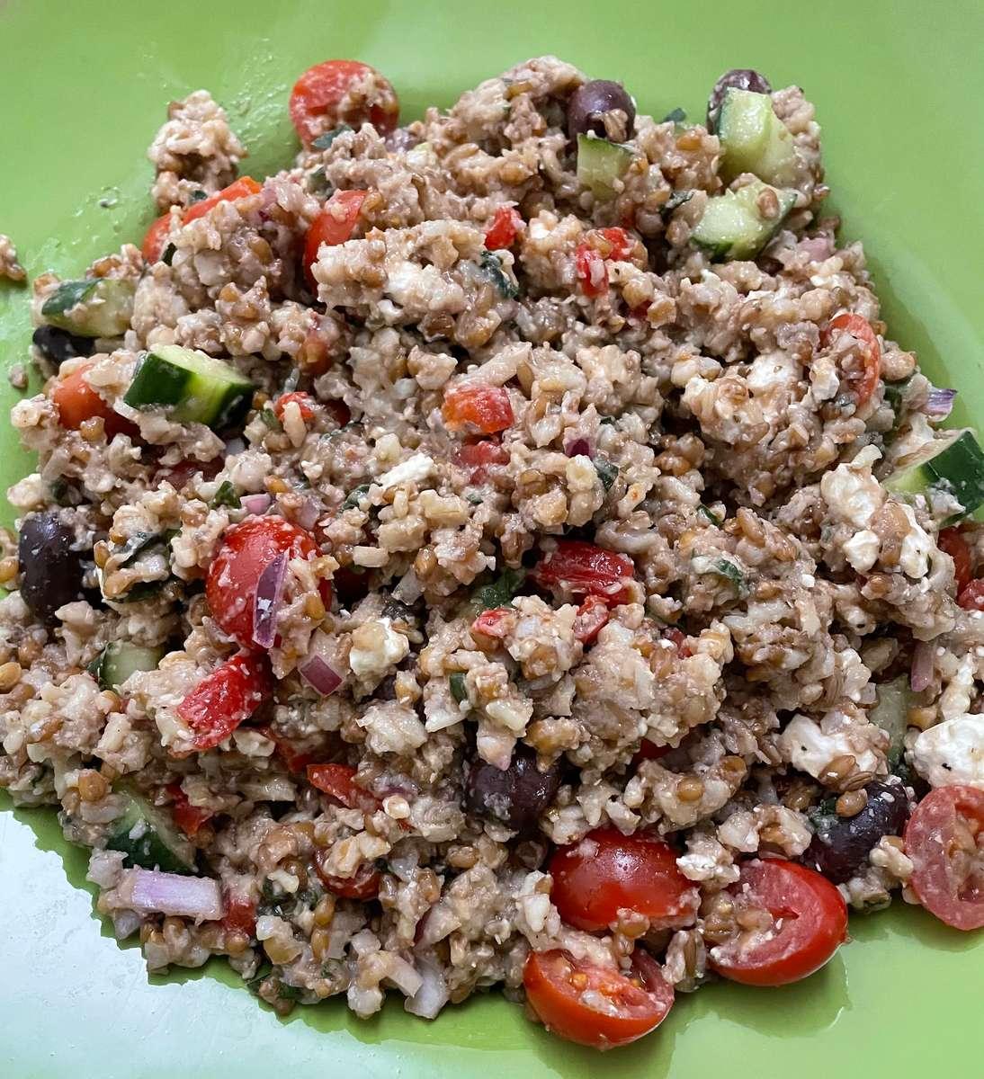 Asian Faro Salad