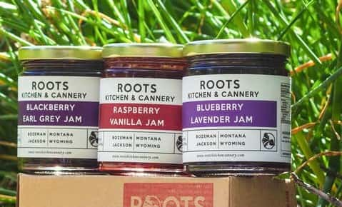Roots Kitchen & Cannery Jam Trio Gift Box