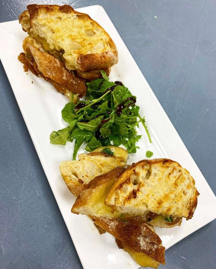 Danish Delight Grilled Cheese