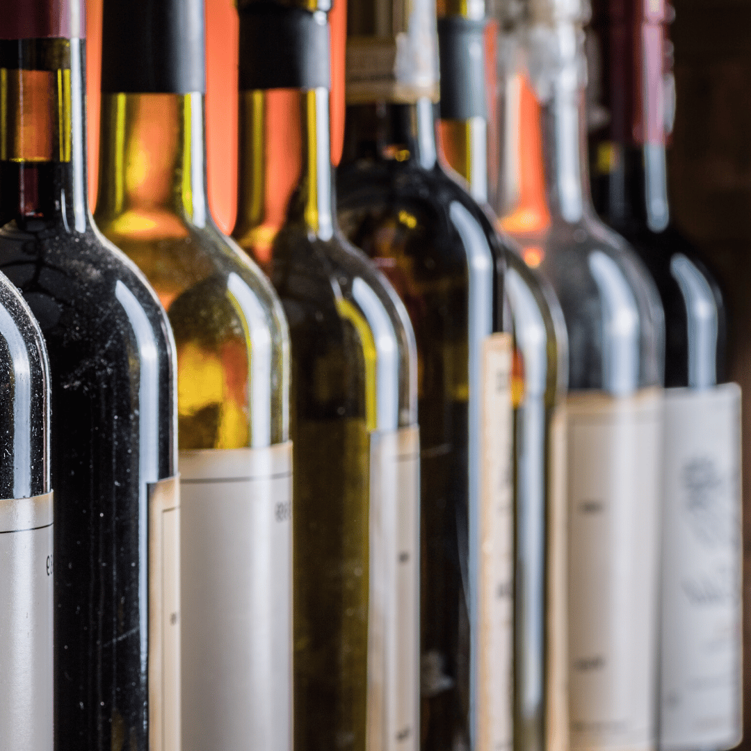 Bottles of Wine - great with dinner!