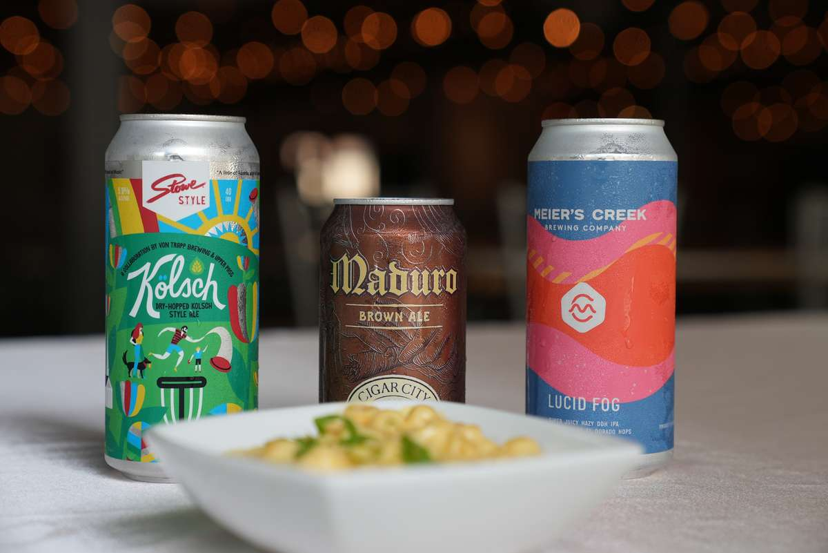 Beer and Mac and Cheese Pairings at Epicuse.