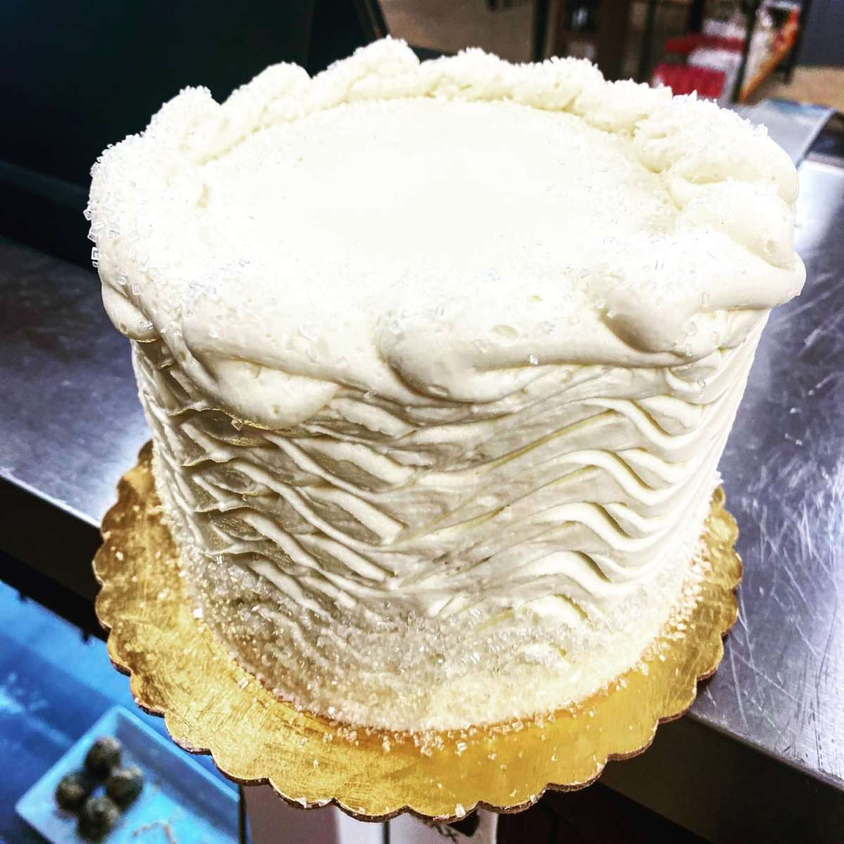 Classic Vanilla with Buttercream Frosting