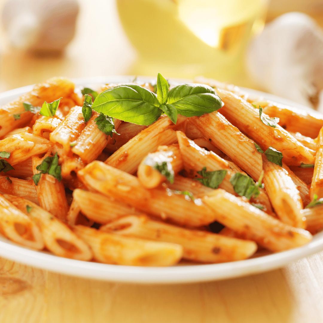 Vegetable Lasagna with marinara