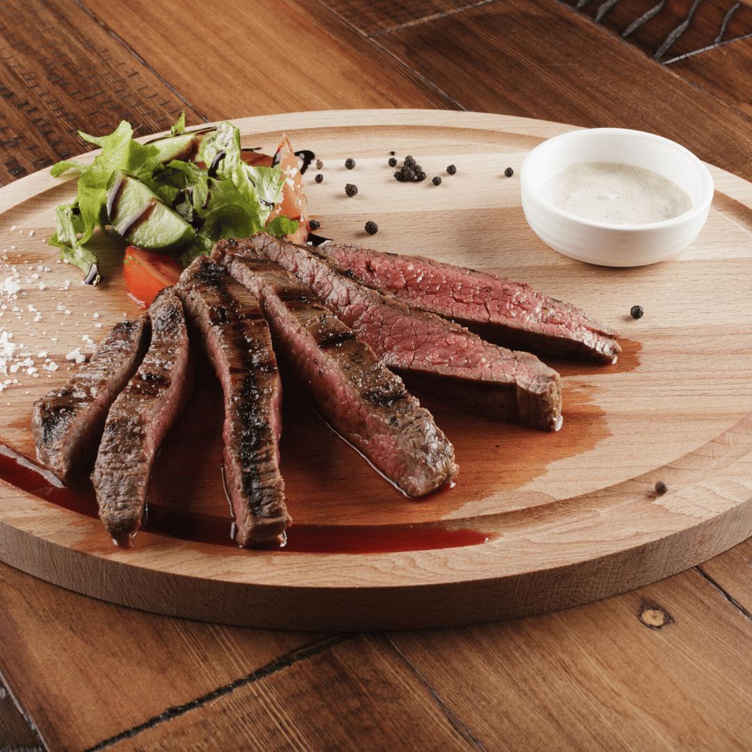 Marinated & Grilled Flank Steak (8 oz)