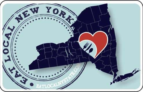 Eat Local New York Card