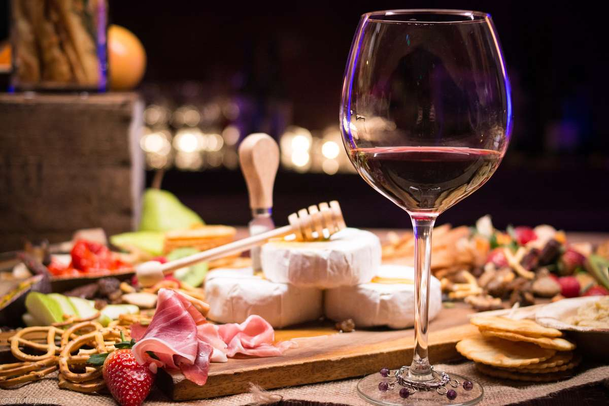 wine & cheese board